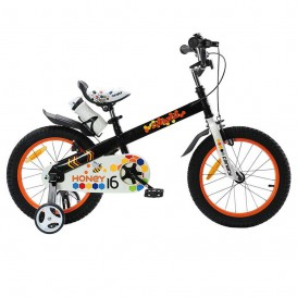 دوچرخه شهری قناری مدل Honey سایز 16 رنگ مشکی