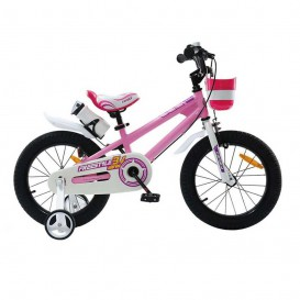 دوچرخه شهری قناری مدل FreeStyle سایز16 صورتی
