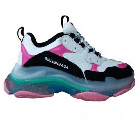 کفش ورزشی بالنسیاگا مدل Triple S pink