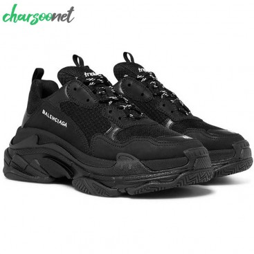 کفش روزمره بالنسیاگا مدل Triple S Black