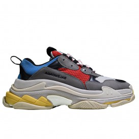کفش اسپرت زنانه بالنسیاگا مدل Triple S Gray