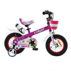 دوچرخه شهری قناری مدل Honey بنفش سایز 12