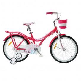دوچرخه شهری قناری مدل Jenny سایز 20 رنگ قرمز