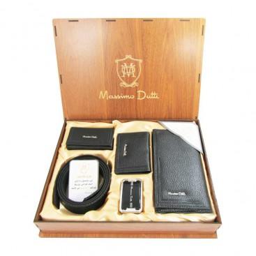 ست کیف و کمربند و جاکارتی و جاکلیدی ماسیمو Massimo Dutti