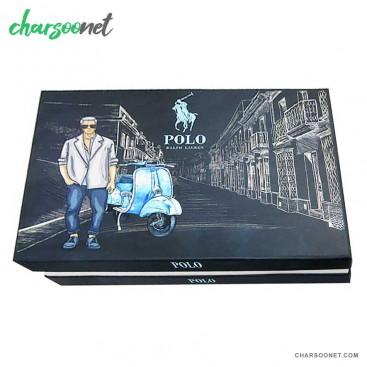 ست کیف و کمربند و جاکلیدی و جاکارتی پولو Polo