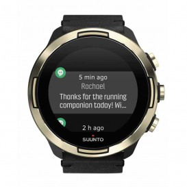 ساعت سونتو 9 مدل SUUNTO 9 G1 BARO GOLD LEATHER