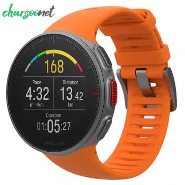 ساعت ورزشی پلار مدل POLAR VANTAGE V ORANGE