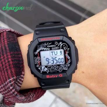 ساعت دیجیتال گرافیتی زنانه کاسیو Casio Baby-G BGD-560SK-1DR