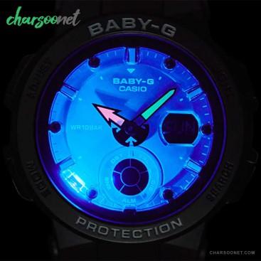 ساعت عقربه ای دیجیتال کاسیو زنانه Casio Baby-G BGA-250-1ADR