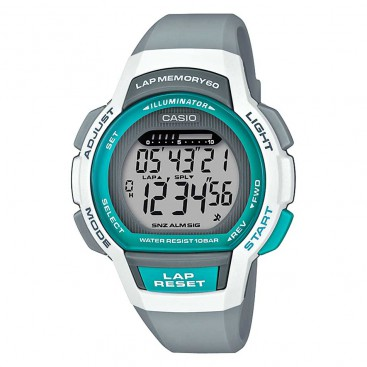 ساعت دیجیتالی زنانه کاسیو Casio Lap Memory 60 LWS-1000H-8AVDF