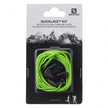 بند کفش سالومون مدل Salomon Quicklace Kit Green کد 326677