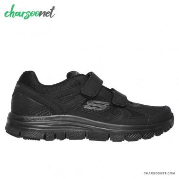 کفش اسپرت مردانه اسکچرزSA-58365bbk Skechers Flex Advantage