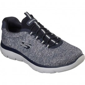 کفش مردانه اسکچرز مدل Skechers navy Summits کد 52813