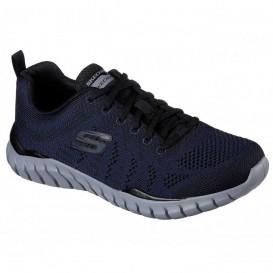 کفش اسکچرز سرمه ای مدل Skechers Overhaul Debbir کد 52819