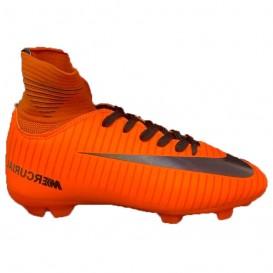 کفش فوتبال حرفه ای ساق دار مخصوص زمین چمن طبیعی