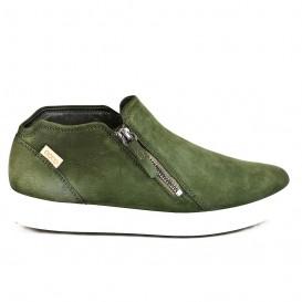کفش راحتی اکو بغل زیپ دار Ecco Soft 7 کد 02345-430243