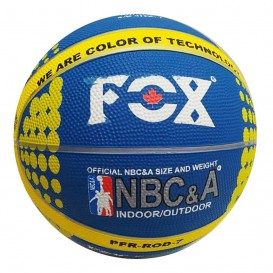 توپ بسکتبال فاکس Fox سایز 6 آبی