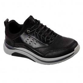 کفش رسمی اسکیچرز مدل Relaxed Fit Delamo کد 66164-BLK