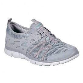 کفش پیاده روی اسکچرز زنانه Skechers Gratis 23360GRY