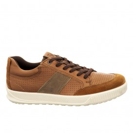 کفش راحتی اکو مردانه EccoByway Tan Leather 501564-51982