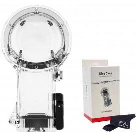 محافظ غواصی دوربین اینستا 360 مدل DIVE CASE FOR DUAL LENS 360 MODE