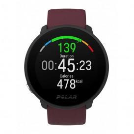 ساعت ورزشی پلار مدل polar Unite Plum & Black Fitness کد 90083110