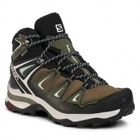 کفش کوهنوردی ضدآب سالومون Salomon X Ultra 3 Mid GTX کد 412380