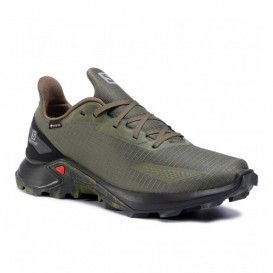 کفش کوهنوردی ضدآب سالومون مردانه Salomon Alphacross Blast GTX