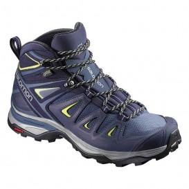 کفش کوهنوردی سالومون زنانه Salomon X Ultra 3 mid GTX کد 398691