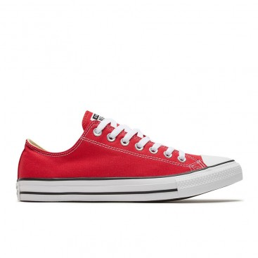کفش اسنیکر کانورس Chuck Taylor All Star red low