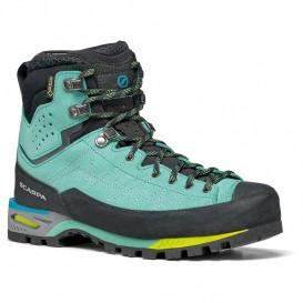 کفش کوهنوردی زنانه اسکارپا مدل ZODIAC TECH GTX WMN GREEN BLUE