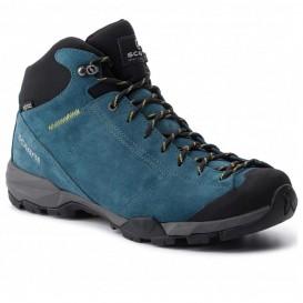 کفش کوهپیمایی اسکارپا مدل MOJITO HIKE PLUS GTX LAKE BLUE