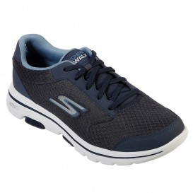 کفش ورزشی اسکیچرز مدل Skechers navy Go Walk 5 کد 55509nvy
