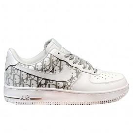 کفش اسنیکر راحتی نایک Nike Air Force 1 X Dior