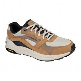 کفش اسنیکر اسکیچرز مدل SKECHERS Global Jogger کد 237200-tan