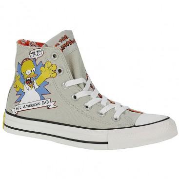 ال استار کانورس طوسی Converse Chuck Taylor Simpsons