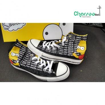 کفش ال استار کانورس مشکی Converse The Simpsons