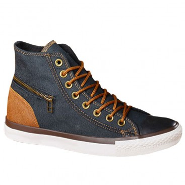 کفش ال استار جین زغالی Converse Jeans