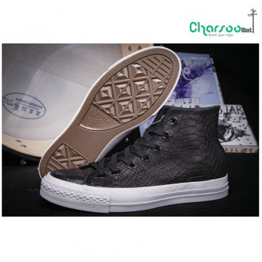 کفش ال استار مشکی Converse Crocodile Limited Edition