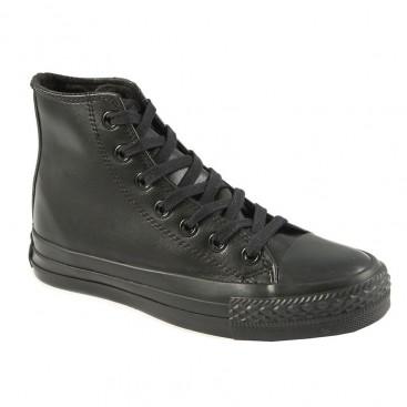 کفش ال استار کانورس مشکی Converse All Star Leather