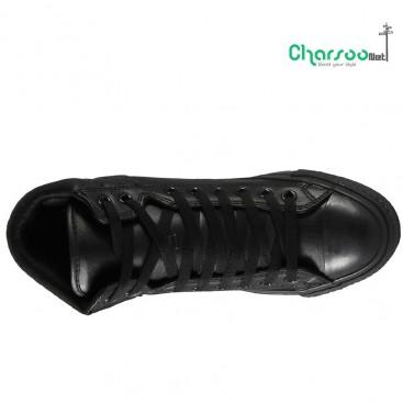 کفش مشکی چرم کانورس مردانه و زنانه