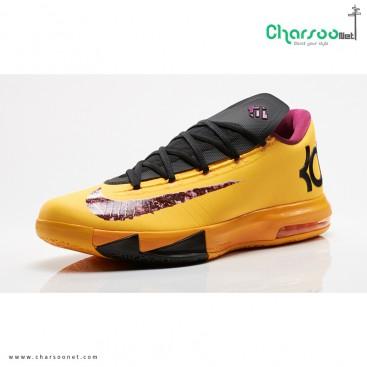 کتانی بسکتبال نایک لیزری Nike KD VI 6 Peanut Butter